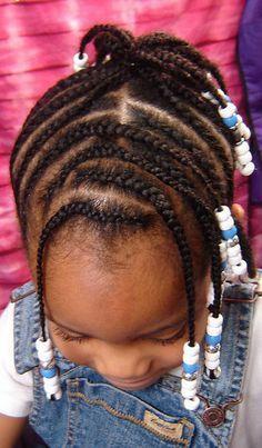 Little black girls hairstyles.