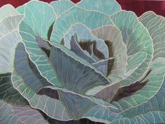 """Of Cabbages and Kings, 35 x 25"""", by Norma Schalger 