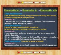 Responsible -         Repinned by Chesapeake College Adult Ed. Free classes on the Eastern Shore of MD to help you earn your GED - H.S. Diploma or Learn English (ESL).  www.Chesapeake.edu
