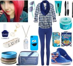 """""""bluw"""" by herrroool ❤ liked on Polyvore"""