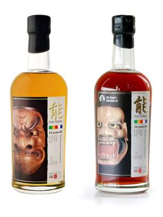 Japanese Noh Whisky. I guess this design has a meaning for someone??  PD