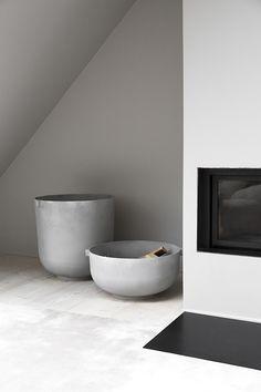vosgesparis: A VIPP loft in Copenhagen you can call yours for the night Gray Interior, Contemporary Interior, Interior Design, Dark Walls, Beautiful Hotels, Minimalist Interior, Other Rooms, Kitchen Accessories, Scandinavian Design