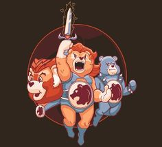 Thundercats/ Carebear mix, Thundercares T-Shirt!!!