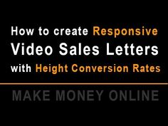 Video Marketing - How to Create responsive High Converting Video Sales Letter - http://vid-mark.com/video-marketing-how-to-create-responsive-high-converting-video-sales-letter/