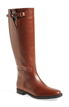 Burberry+'Mapledene'+Riding+Boot+(Women)+available+at+#Nordstrom