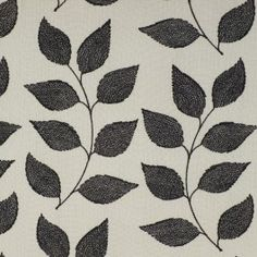 Black and white fabric (drapery / curtains) Caymen Phantom by Charles Parsons Interiors