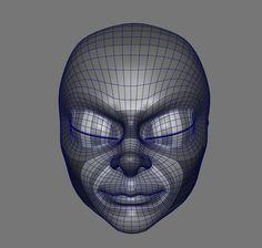 ArtStation - Cammy - Modeling WIP, Olivier Couston