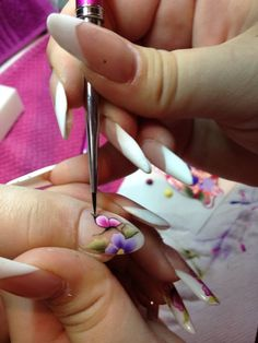 Baby Boomer, Nailart, Nail Studio, Training, Pattern
