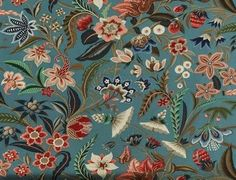 Rochecotte, about 1950 French printed fabric, Pierre Frey                  Saintonge, 19th century French printed fabric, Braquenié...