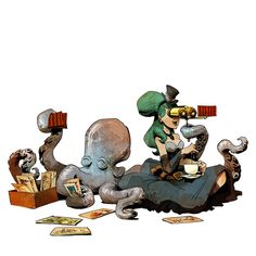 Art by Brian Kesinger* • Blog/Website | (www.bkartonline.com) • Online Store | (https://www.etsy.com/shop/BrianKesinger) ★ || CHARACTER DESIGN REFERENCES™ (https://www.facebook.com/CharacterDesignReferences & https://www.pinterest.com/characterdesigh) • Love Character Design? Join the #CDChallenge (link→ https://www.facebook.com/groups/CharacterDesignChallenge) Share your unique vision of a theme, promote your art in a community of over 50.000 artists! || ★