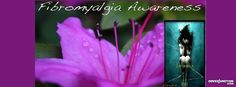 Fibromyalgia flower Facebook Cover