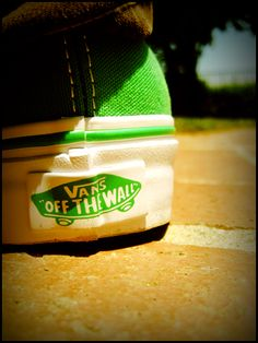 I need to get another pair of green vans