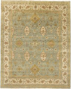 The Mirzapur Collection is Due Process at their finest. Made with high quality pure wool and knotted by only the most skilled of artisans, this classic, traditional rug has the absolute finest of detailing and knots.This rug is on display in our...