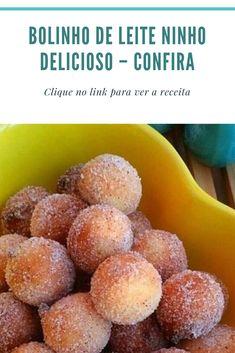 Frito Recipe, Cake Recipes, Dessert Recipes, Portuguese Desserts, Blue Cakes, Cookie Pops, Diy Food, Homemade Food, Yummy Cakes