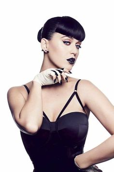 Incredible Katy Perry is wearing a custom made handcrafted leotard for COVERGIRL latest campaign. Styled by Bea Åkerlund.  http://www.murmurstore.com/
