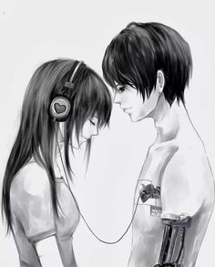 Couples, cute anime couples, anime cupples, sad anime, me me me anime Anime Cupples, Art Anime, Emo Couples, Cute Anime Couples, Anime Couples Cuddling, Anime Love Couple, Manga Couple, Art Manga, Manga Drawing