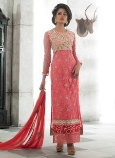 Link: http://www.areedahfashion.com/salwar-kameez&catalogs=ed-4020 Price range INR 4,459  Shipped worldwide within 7 days. Lowest price guaranteed.