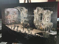 Image result for jesus christ superstar live scenic design
