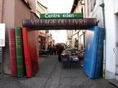 Redu, Belgium, a whole village dedicated to books and related topics! It's a must-visit site for book lovers!