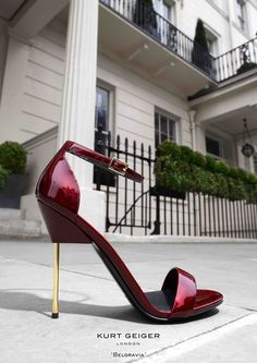 Killer shoes and amazing photography too!  Kurt Geiger London 'Belgravia'