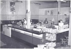 Steven's Dairy on Street, Bay City, Michigan. They had the best ice cream. My Dad and Mom would take us here for cones. My favorite flavor was Chocolate Chip Ice Cream. Bay City Michigan, Tri Cities, Historical Architecture, History, Street, Dairy, Ice Cream, Childhood, Memories