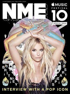 """Britney: """"Fui Muy Egoísta con Glory""""   Britney engalana la portada de la revista inglesa semanal NME donde nso cuenta sobre su papel en """"Glory"""" ademas cuestiono el hecho de ser llamada """"Godney"""" y recalco la idea de que muchos fans han crecido como ella estando segura de eso. Ella ha hecho un regreso triunfal con su noveno álbum de estudio. Pero a pesar de forjar una carrera musical de casi dos décadas en la cima de la fama ella admite que todavía tiene dudas acerca de su legado. A los 34…"""