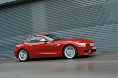I want one!! BMW Z4 sDrive35is in  Melbourne Red Metallic