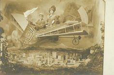 Photo de rêve, 1910 circa Collezione Paolo Ventura http://www.mart.trento.it/andataericordo