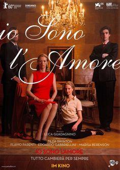IO SONO L AMORE - 2009 - ORIG. FILMPOSTER A4 Tilda Swinton Edoardo Gabbriellini