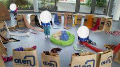 Bosses de i robes paper Reggio Emilia, Movement Preschool, Sensory Bottles, Gross Motor Skills, Baby Center, Infant Activities, Early Childhood, Baby Toys, Ideas Para