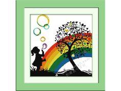 Bimba arcobaleno esempio
