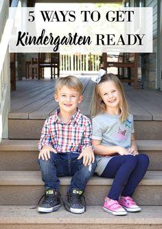 5 WAYS TO GET KINDERGARTEN READY, Back to school, Kindergarten, First day of…