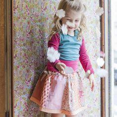 this outfit is actually on my homepage www.kakao-kindermode.com too Waist Skirt, High Waisted Skirt, Kakao, Kind Mode, Kids Fashion, Tulle, Organic, Rock, Skirts