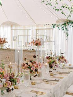 Autumn Wedding, Elegant Wedding, Floral Wedding, Perfect Wedding, Spring Wedding, Wedding Reception Tables, Marquee Wedding, Wedding Themes, Wedding Decorations