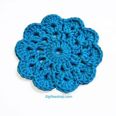 Crochet Coasters Pattern- Cup Coaster- Glass Coasters no84 – Gifts shop