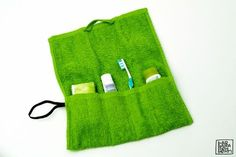 'Handtuch-Waschbeutel nähen                                                                                                                                                                                 Mehr