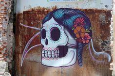 Arte Urbano en el transporte Oaxaqueño.