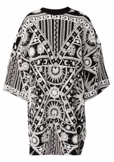 KTZ - Textured Print Oversized T-Shirt (worn by Kylie on Keeping Up With The Kardashians)