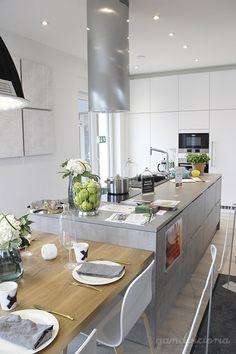 Kitchen at Asuntomessut 2015 in Vantaa, Finland. | qandvictoria.wordpress.com
