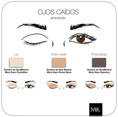 Makeup Ojos caídos #MaryKay www.marykay.es/mariaroda