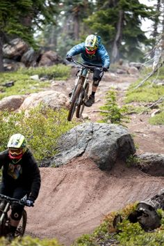 Follow me in... Trail: Boondocks - Northstar California Mountain Bike Park
