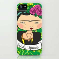 frida kahlo by iso iPhone & iPod Case by iso.  - $35.00