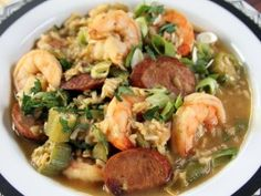 It's what's for dinner tonight...Bobby's Smokey Gumbo from CookingChannelTV.com