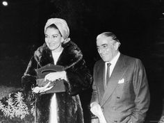 Tycoon-Aristotle-Onassis-with-Singer-Maria-Callas. True Jet setters.