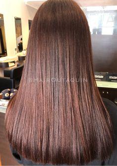 Brunette 🔥🔥🔥🔥 #brunette #shinyhair #longhair #healthyhair #kaaralcolour #exhaircare