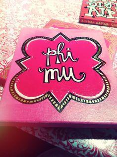 Phi Mu Picture a Girl | phi mu