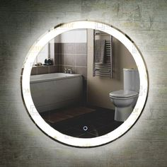 Material:  Mirror : Coper free silver mirror,anti-corrosion  Structure : Aluminium Frame or Steel Base or PVC, IP44 rated  Installation : Wall mounted vertically or horizontally,  hardwired or plug connection  Lighting:  Light source:  CCT 2700-7000K  CRI>80/90  Life:50,000+ hours  Driver:  Certificate : CE/UL/SAA/RoHS/IP67/TUV/GS etc.  Switch : ON-OFF button, touch sensor, motion sensor, wall switch