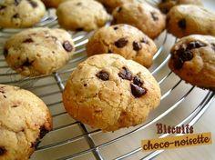 patisserie : biscuits chocolat noisette
