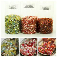 Limited Edition Fringe bead mixes. #beads #fringebeads #shaggybeads