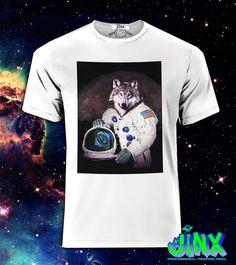 Playera o Camiseta Nasa Wolf -Jinx